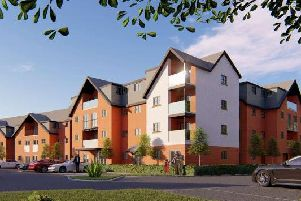 An image of the new retirement complex planned for the Wellington Hotel site