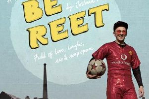 be reet poster advertising the new production