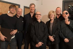 Members of Preston Laryngectomy Choir and Shout at Cancer