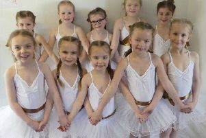 Members of Charlotte Killick School of Dance and Starlight Kids rehearse for One Night Only to raise funds for PHAuk