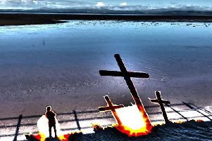 Follow the Morecambe Goth Passion Play through various venues in the town