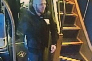 Police would like to speak to this man in relation to the theft of a mobile phone on the 125 Preston-Chorley bus on Wednesday, March 13 at around 4.15pm.