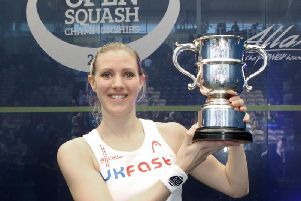 Laura Massaro has won the prestigious British Open twice