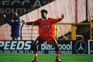 Andy Preece played for Blackpool between 1995 and 1998