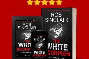 White Scorpion by Rob Sinclair