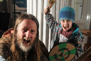 Join the Fearsome Craftsmen at the Harris Museum, Preston next week and make some Viking items to take home