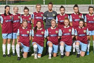 Burnley FC Women: Picture -  Andy Smith