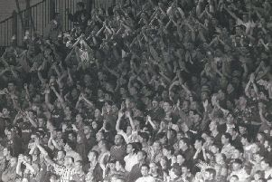 The final game for the 'Longside' September 16th 1995, when Burnley beat Hull City 2-1