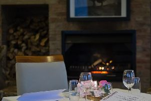 Enjoy a drink or a meal in front of the fire. Picture supplied by Pixabay