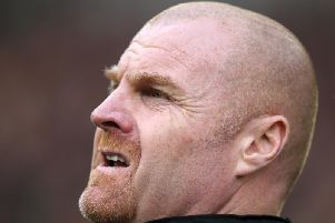 Sean Dyche at Bramall Lane