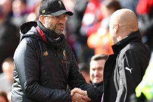 Jurgen Klopp and Sean Dyche