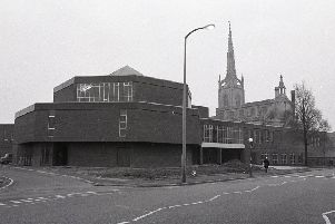 These buildings, part of the St Peters art centre complex on Fylde Road, form some of Preston Polytechnic