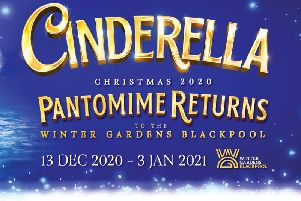 Cinderella at Opera House, Winter Gardens in 2020
