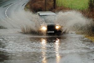 Floods are causing havoc in East Lancashire this weekend