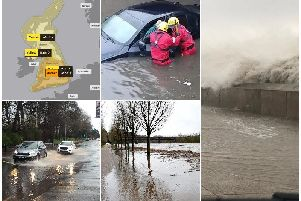 Scenes from across Lancashire as Storm Ciara hits