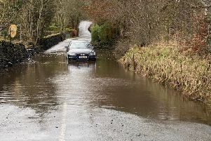 Car abandoned in Higherford