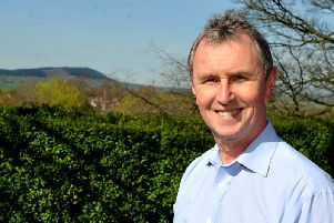 MP Nigel Evans toured the flooded areas yesterday