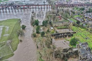 Storm Ciara had a severe impact on Ribble Valley earlier this month. Picture courtesy Joe Moorcroft