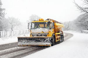 Gritters will be out across the county tonight as more snow and ice is forecast.