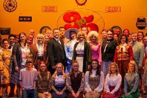 A rave review for the cast of 9 to 5 performed by Clitheroe Parish Church Amateur Operatic and Dramatic Society