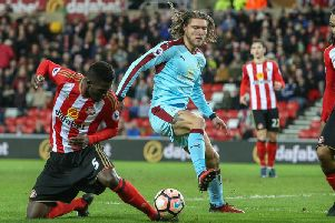 The Clarets faced Sunderland in the third round last season