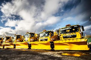 Lancashire County Council's fleet of gritters is ready to keep Lancashire moving