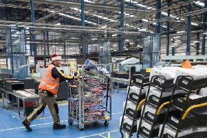 One of the Royal Mail temporary parcel sorting centres will be in West Lancashire