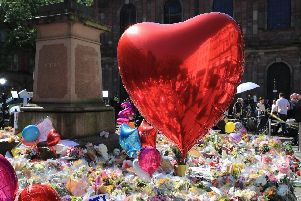 Tributes to the victims of the Manchester Arena attack