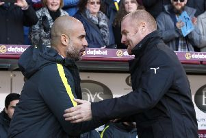 Pep Guardiola and Sean Dyche