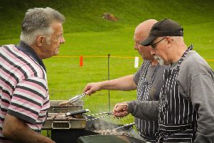 The barbecue.