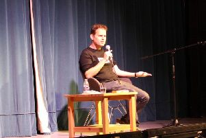 Adam Kay at the festival