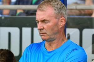 Chesterfield manager John Sheridan.