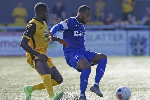 Gevaro Nepomuceno is one of several signings brought in by Spireites boss John Sheridan.