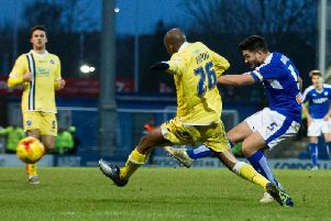 Sam Morsy was a fans' favourite at Chesterfield.