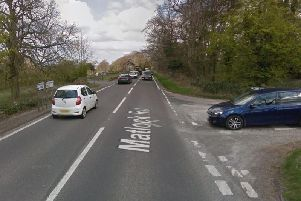 The collision occurred on the A632.