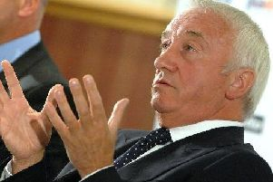 Dave Allen, owner of Chesterfield FC.