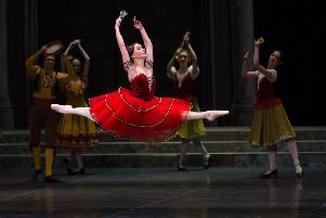 Duels and Spanish passion in Don Quixote ballet in Buxton
