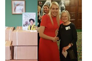 Rebecca Bidwell, director of Bidwell Henderson, is pictured with Lady Hale.