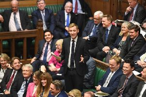Lee Rowley MP in the House of Commons.