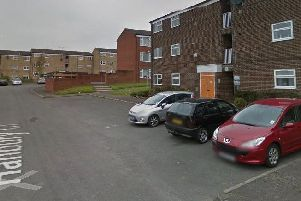 Four people have been arrested in connection with an incident on Hanbury Close