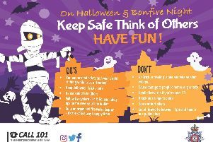 Derbyshire Police's top tips for a safe Halloween