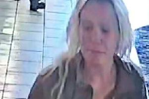 Police would like to trace the woman pictured as they believe she may be able to help them with their investigation.