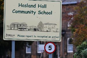 Hasland Hall Community School.