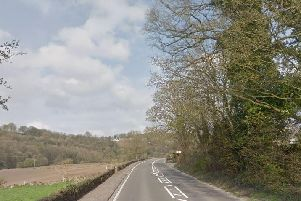 The A6 at Whatstandwell. Pic: Google Images.
