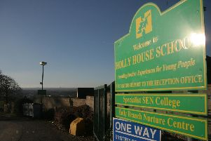 Holly House School in Old Whittington has been labelled as 'outstanding'.