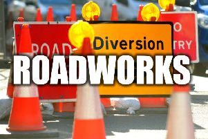TRAFFIC NEWS: Derbyshire roadworks for the week ahead