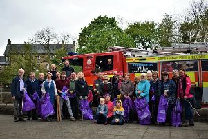 Bolsover Big Tidy cleans streets with community spirit