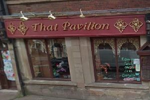 Thai Pavilion: 37 Glumangate, Chesterfield, S40 1TX. Picture: Google Maps.