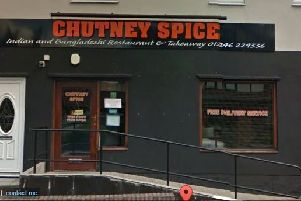 Chutney Spice: 50-52 Church Street, Brimington, Chesterfield, S43 1JG. Picture: Google Maps