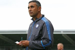 Jack Lester plotting an ascent up the table for Chesterfield (Pic: Tina Jenner)